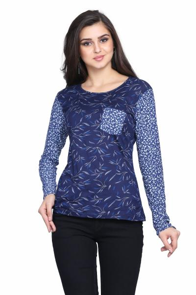 Printed Knitted Top For women