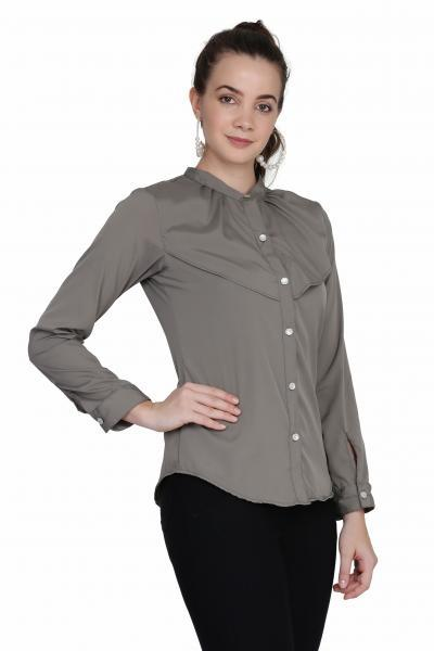 Women's Solid Casual Shirt